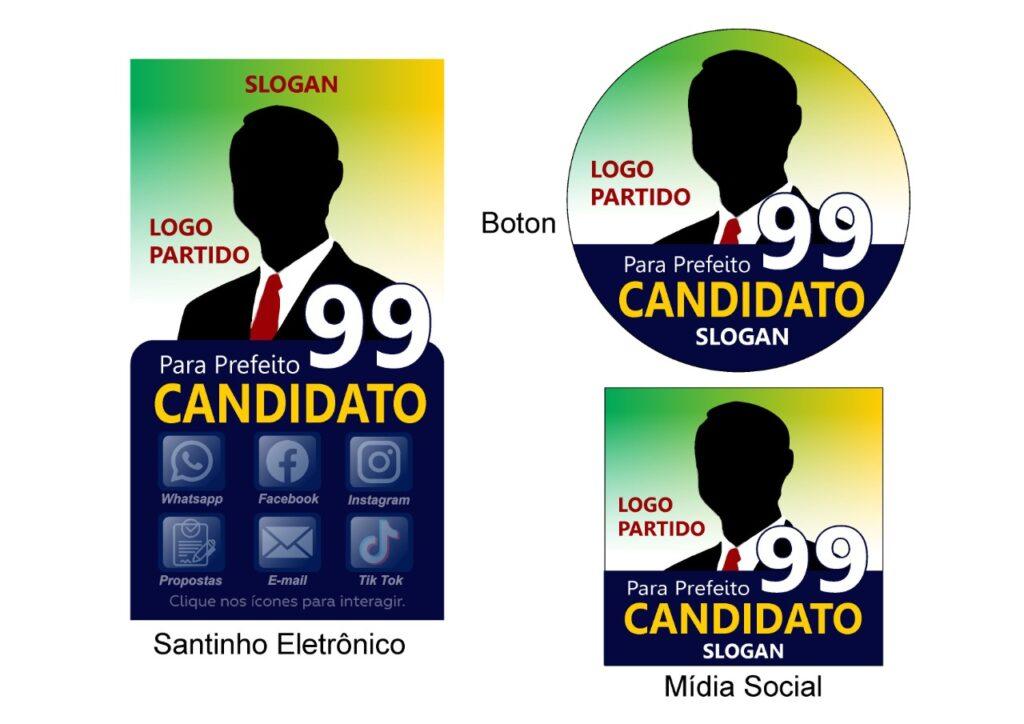 material de apoio de cmapanha eleitoral digital